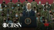Biden meeting with U.K. Prime Minister Boris Johnson ahead of G7 summit (Video)