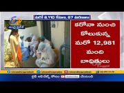 8110 Corona Cases & 67 Deaths Recorded | in Past 24 Hours | at Andhra Pradesh  (Video)