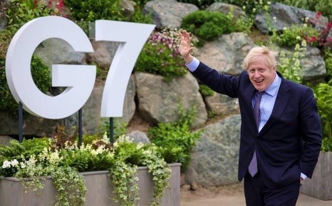 G7: Johnson urges nations to seek more 'feminine' economic recovery