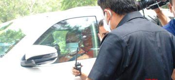 New Delhi:  Uttar Pradesh chief minister Yogi Adityanath coming out after meeting with BJP president JP Nadda in New Delhi on Friday  11 June 2021. (Photo: Qamar Sibtain/ IANS)