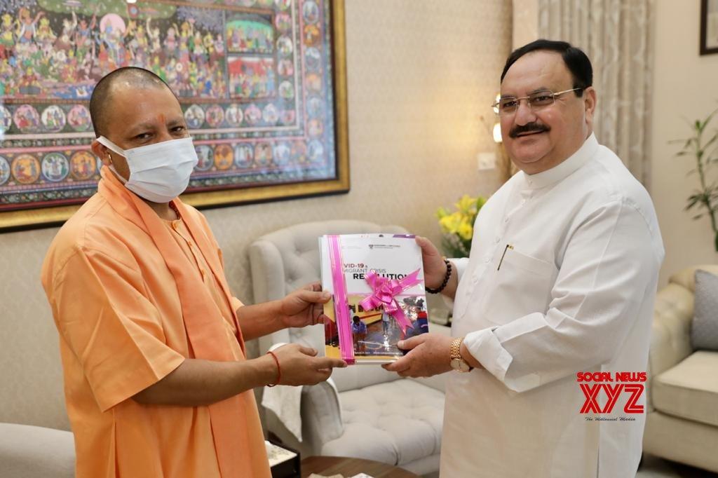 UP CM meets BJP chief Nadda after Modi