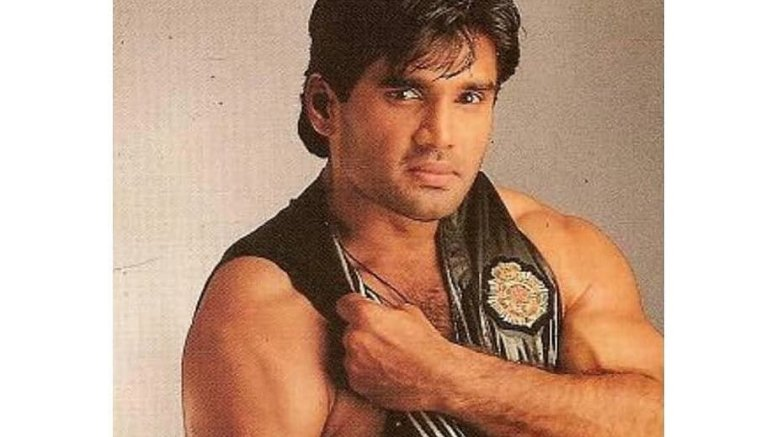 Suniel Shetty flaunts biceps in Flashback Friday post