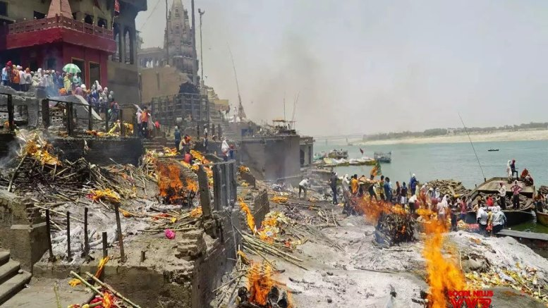 Amid mounting Covid deaths Manikarnika in Varanasi set to expand
