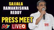 NTV: Sajjala Ramakrishna Reddy Press Meet LIVE l Ntv LIVE (Video)
