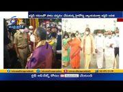 Supreme Court Chief Justice NV Ramana Visits Tirumala  (Video)
