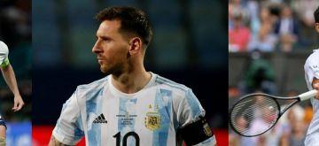 Messi, England, Djokovic eye history on blockbuster Sunday.