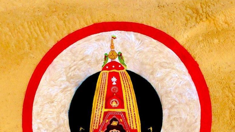 Puri Rath Yatra: Artist Sudarsan creates 'biggest' sand chariot