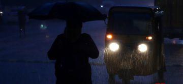 Chennai: Heavy rain in Chennai on Saturday, July 17, 2021. (Photo: R. Parthibhan/IANS)