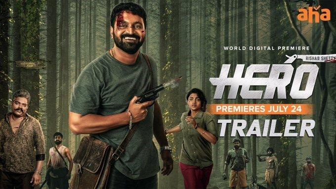 Rishab Shetty Starrer Hero To Release In Telugu, Trailer Out