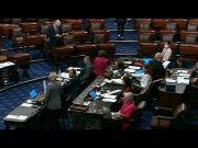 Senate Republicans block bipartisan infrastructure vote, but talks continue (Video)