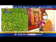 Durga Temple EO Bramaramba Interview | Over Arrangements for Shakambari Devi Utsav @ Vijayawada  (Video)