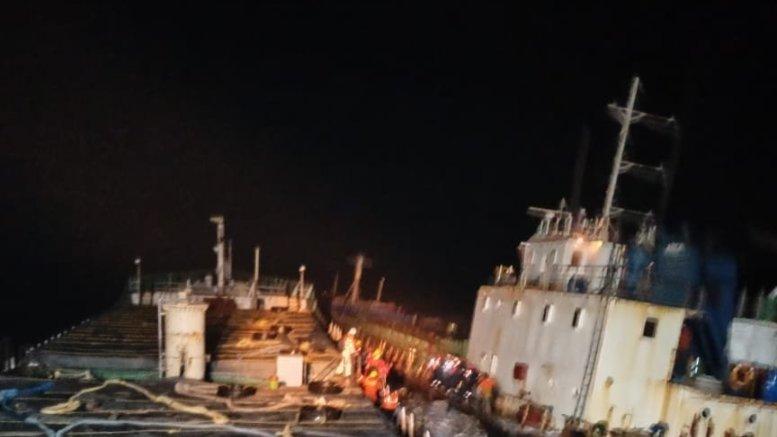 12 crew of cargo ship MV Kanchan stranded off Gujarat coast saved