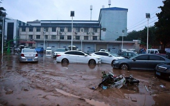 Death toll from heavy rains in China reaches 33