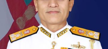 New Indian Navy vice chief Admiral S N Ghormade.