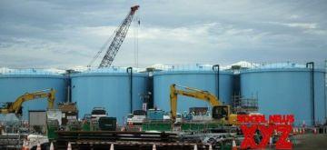 File photo taken on Oct. 12, 2017 shows huge tanks that store contaminated radioactive wastewater in Fukushima Daiichi nuclear plant, in Fukushima Prefecture, Japan. (Xinhua/IANS)