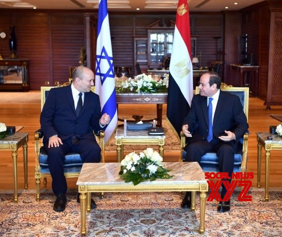 Egypt : Egyptian president, Israeli PM discuss bilateral ties, Palestinian issue #Gallery