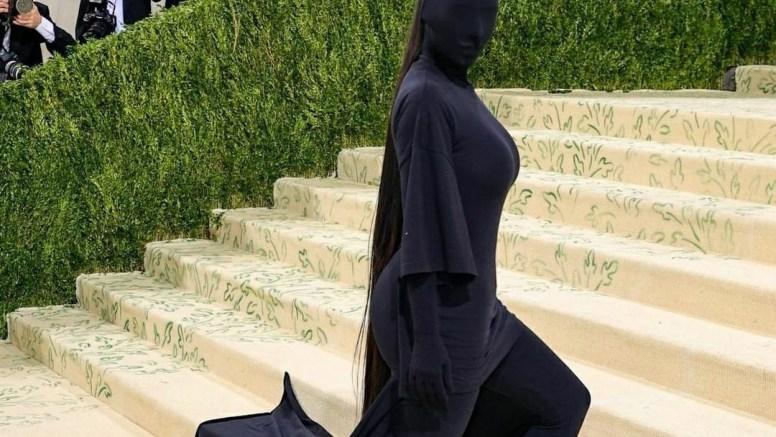 Met Gala 2021: Kim Kardashian's black faceless full-body suit has a Kanye West connect