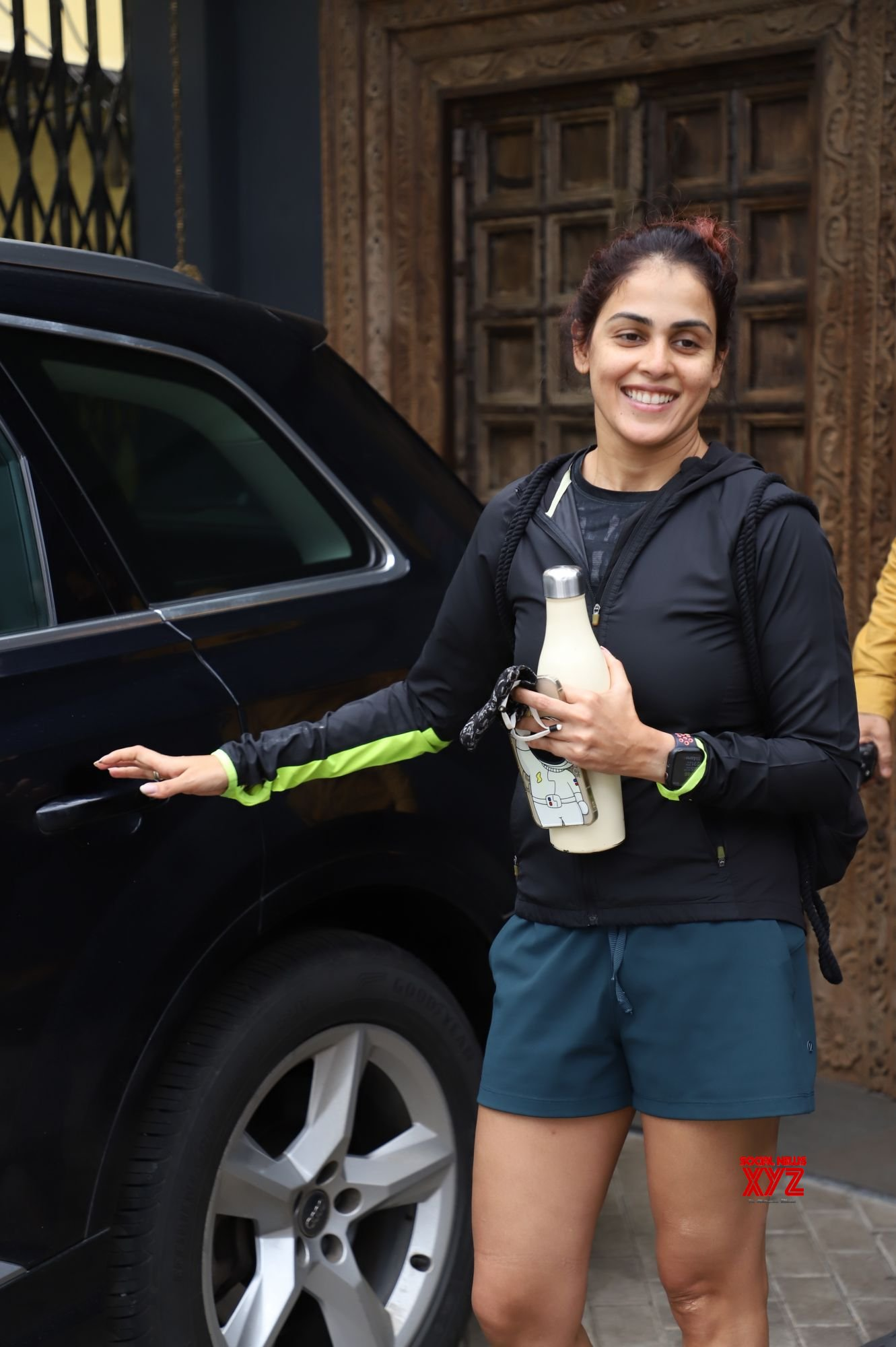 Actress Genelia D Souza Spotted Outside Gym In Bandra - Gallery
