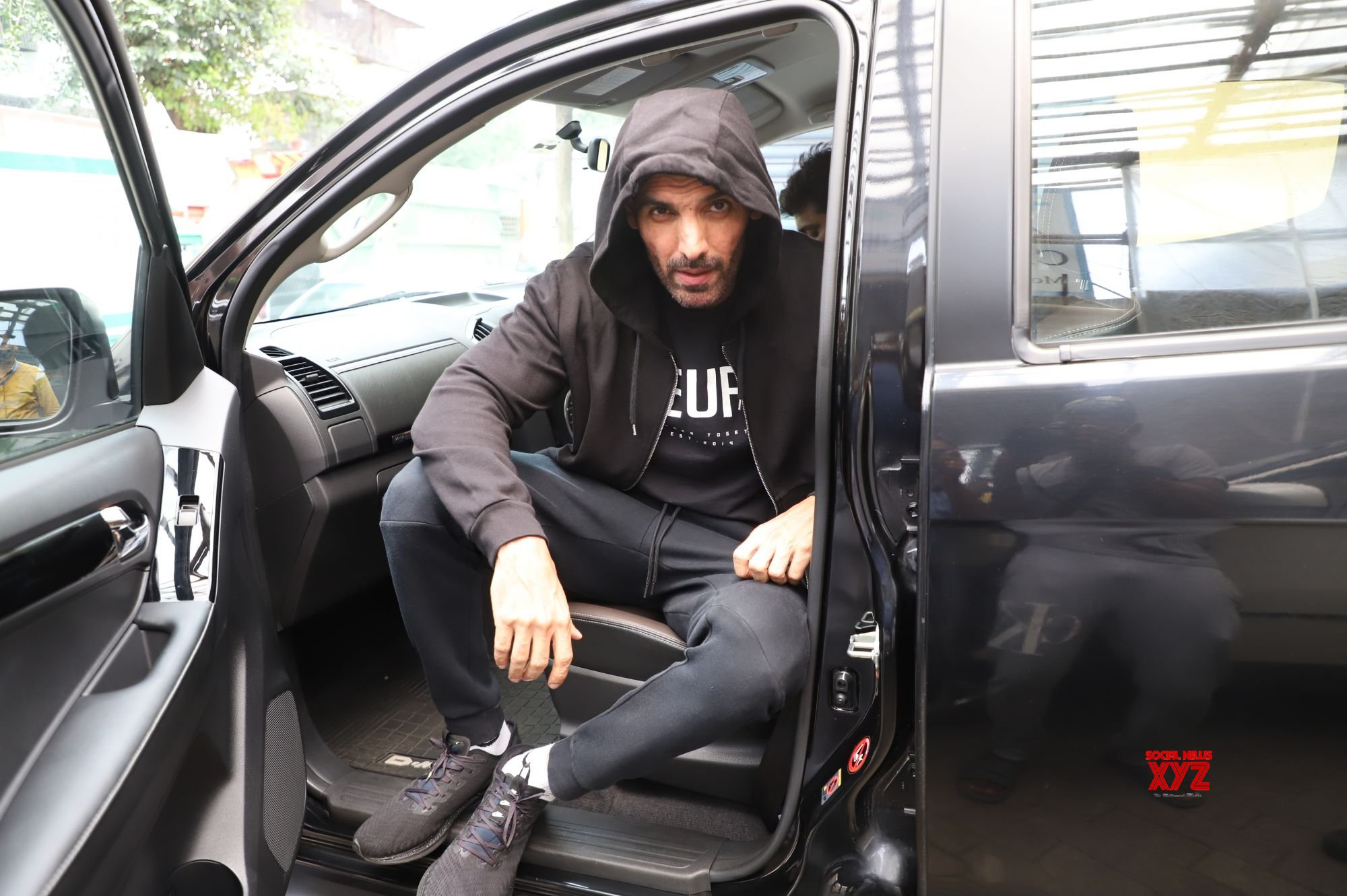 John Abraham Spotted Post Workout In Bandra Gallery