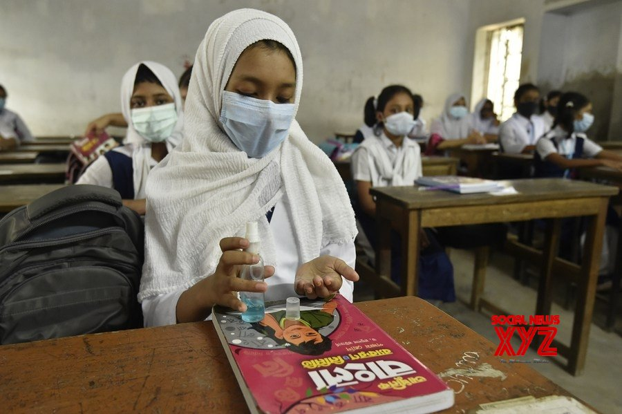 Dhaka : Bangladesh's schools, colleges reopen with strict COVID - 19 protocols #Gallery
