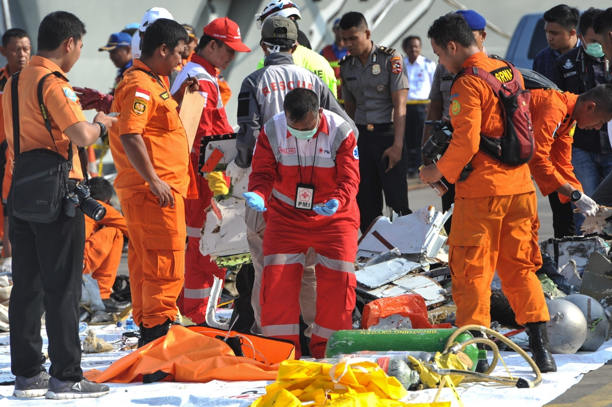 Small plane crashes in Indonesia