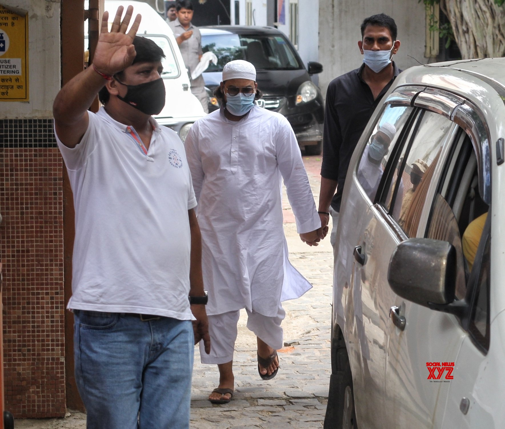 New Delhi : Special Cell of Delhi Police has arrested six suspected terrorists from Special Cell Office Lodhi Colony in New Delhi #Gallery