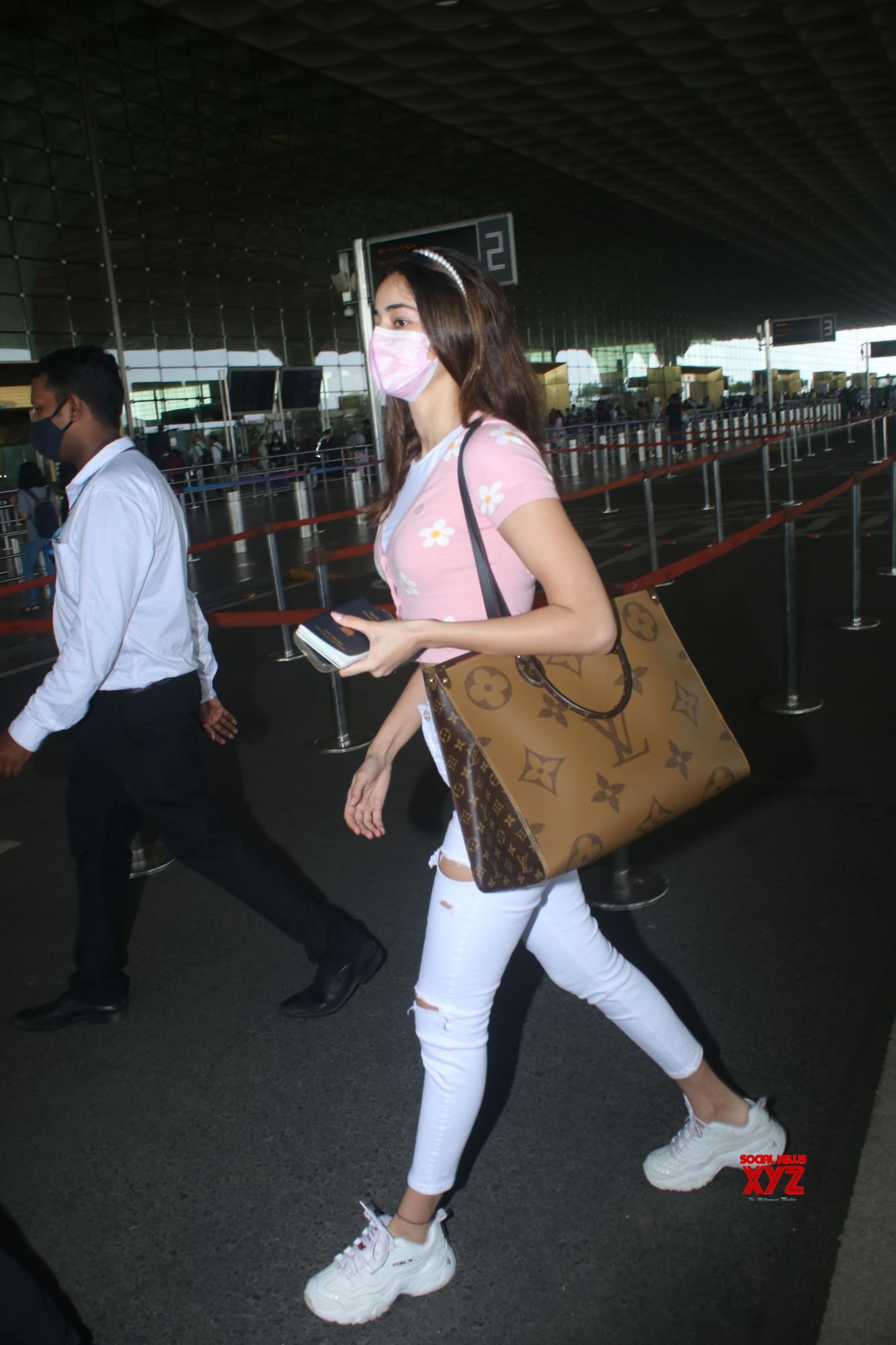 Actress Ananya Pandey Spotted At Airport Departure - Gallery