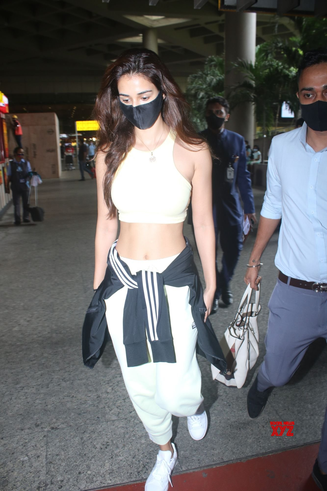 Actress Disha Patani Spotted At Airport Arrival - Gallery