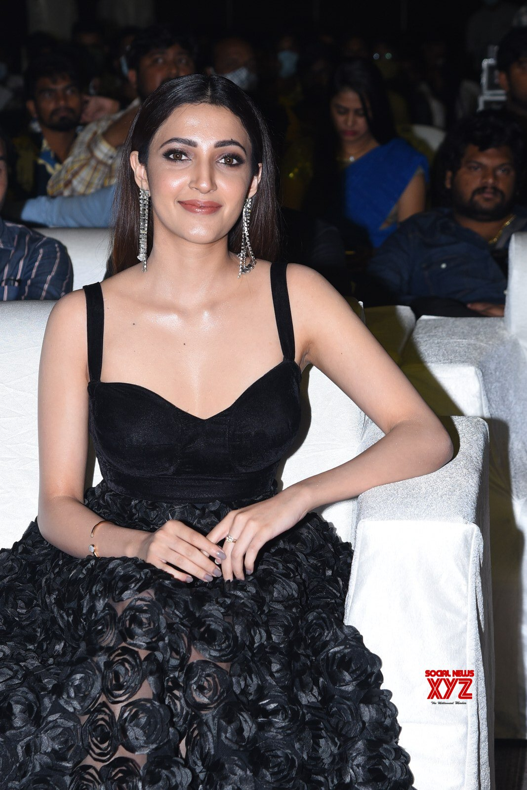 Actress Neha Shetty Glam Stills From Gully Rowdy Pre Release Event
