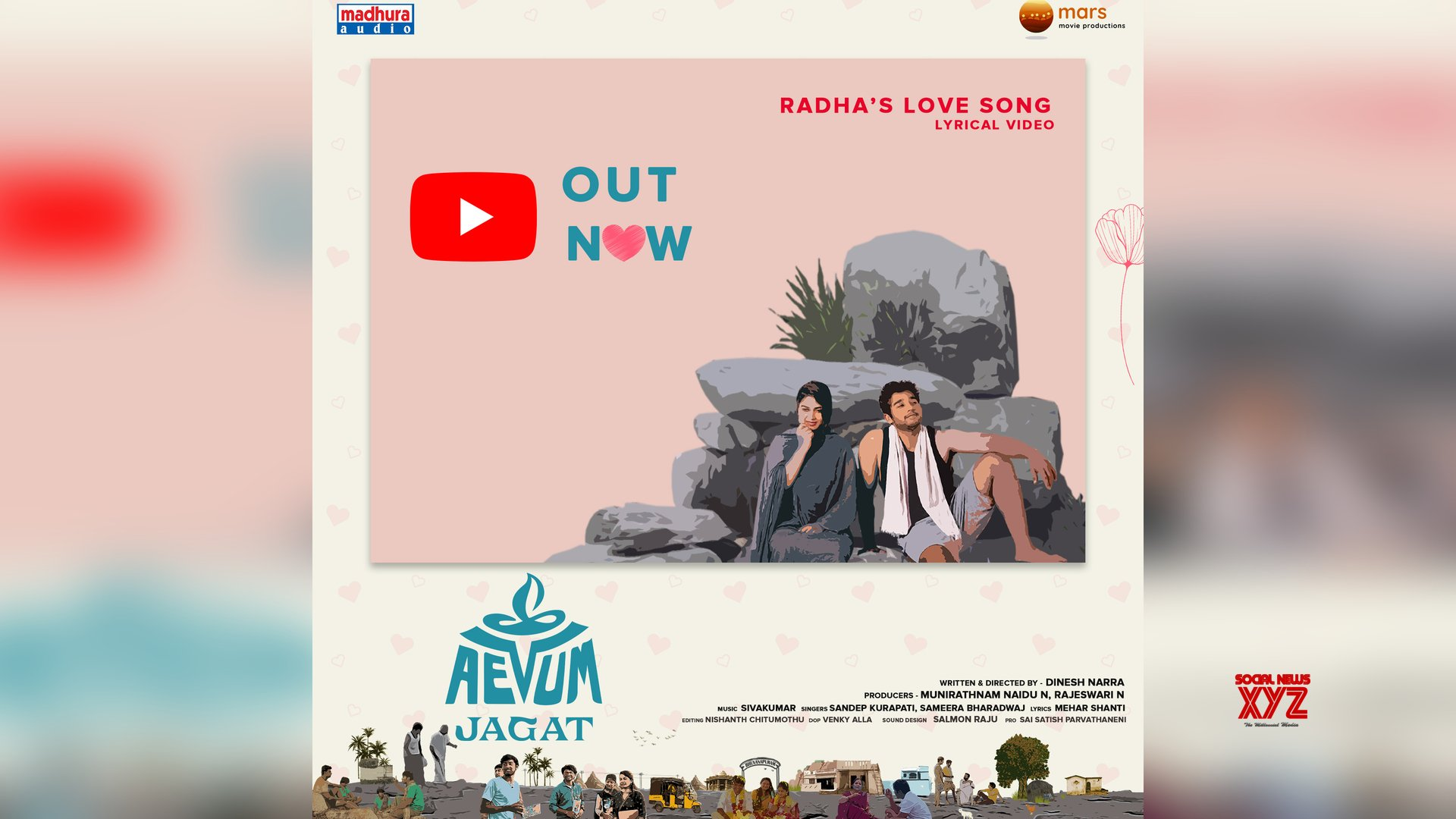 Ananya Nagalla Released Radha's Love Video Song From Aevum Jagat Movie