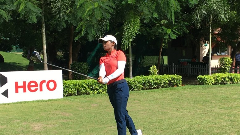 Golfer Lakhmehar takes lead as fancied names struggle in first round of 9th leg of WPGT