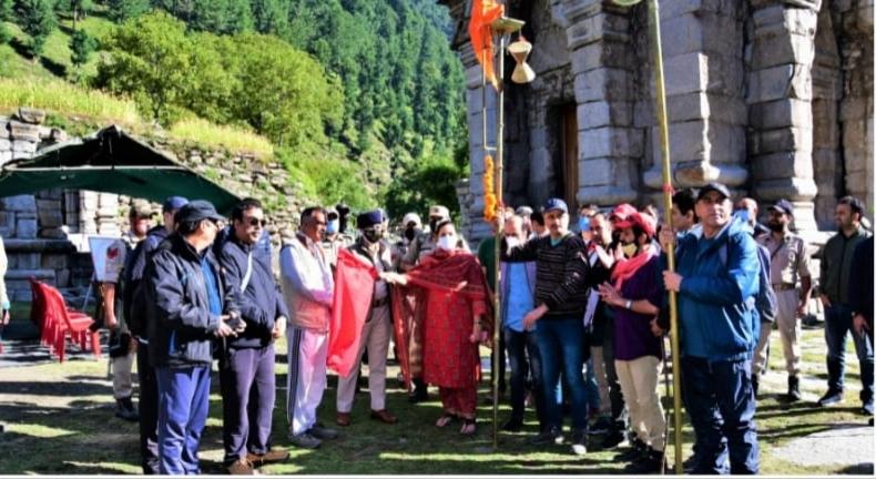 Kashmiri Pandits return after Harmukh-Gangabal Yatra