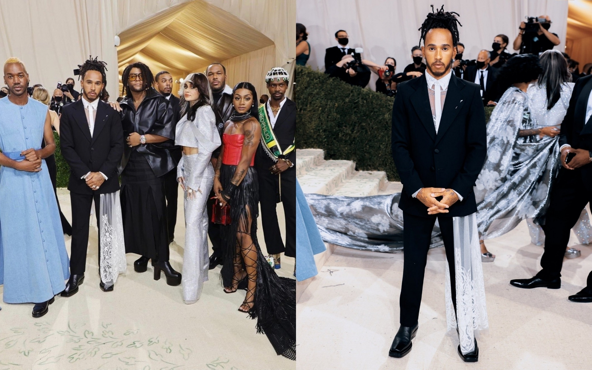 Hamilton courts controversy by supporting 'Black creatives' in Met Gala
