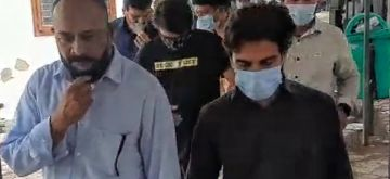 New Delhi: Remaining two terrorist suspects Zishan and Amir were produced before the Patiala House Court and remanded to 14-day police custody in New Delhi on Wednesday, September 15, 2021. (Photo: Qamar Sibtain/IANS)