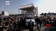 Pope holds Mass in Sastin on final day of trip (Video)