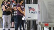 A look at early exit poll data in California recall election (Video)
