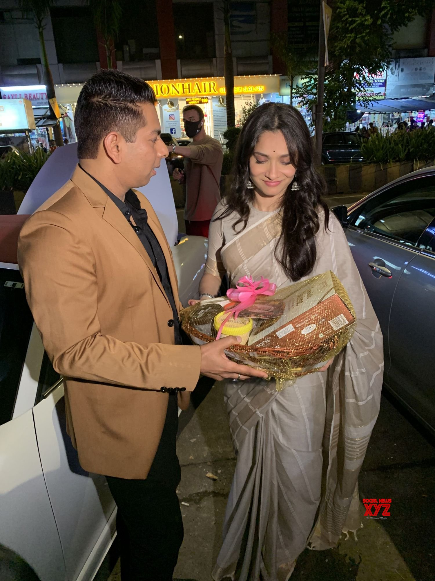 Actress Ankita Lokhande At Launch Of Gianis New Store Launch In Kandivali - Gallery