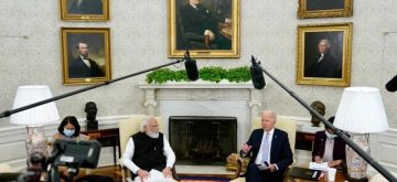 Indian Prime Minister Narendra Modi has set forth a policy of '5Ts' in his meeting with US President Joe Biden.(photo: twitter.com/PMOIndia)