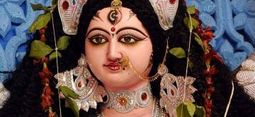 Patna: View of Durga Puja in Patna on Tuesday October 12,2021. (Photo: Indrajit Dey/IANS)