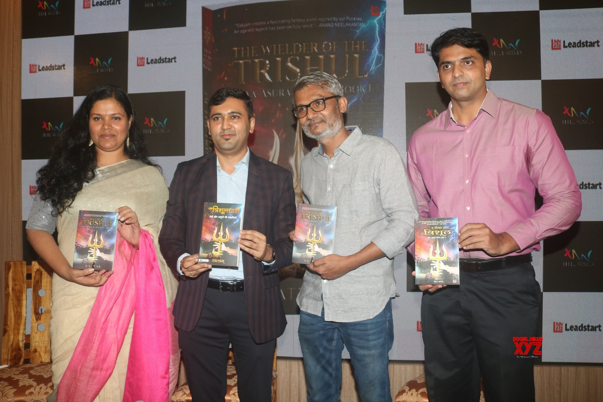 Author Satyam Srivastava Along With The Guest Of Honour Nitesh Tiwari At The Wielder Of The Trishul (TWOTT) Book Launch Gallery