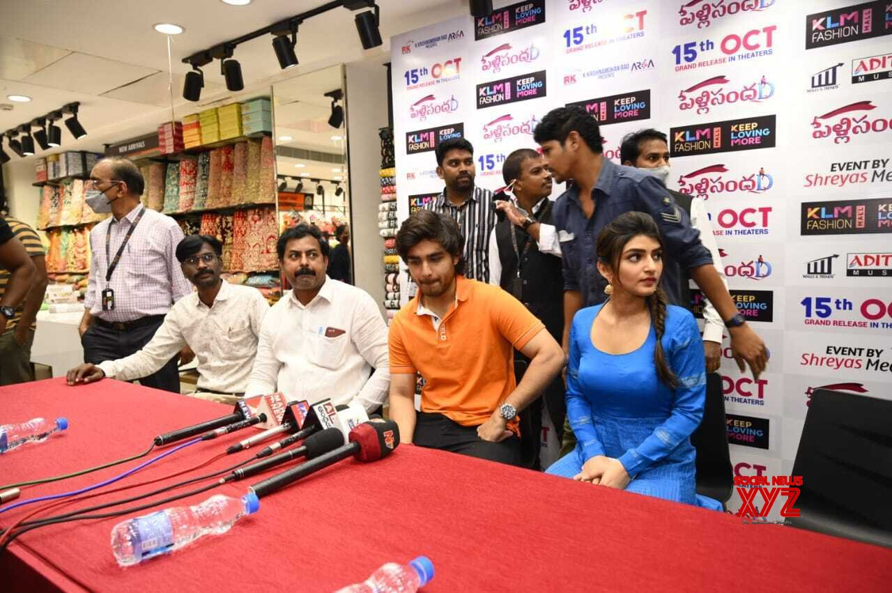 Pelli SandaD Movie Team At Rajahmundry - Gallery