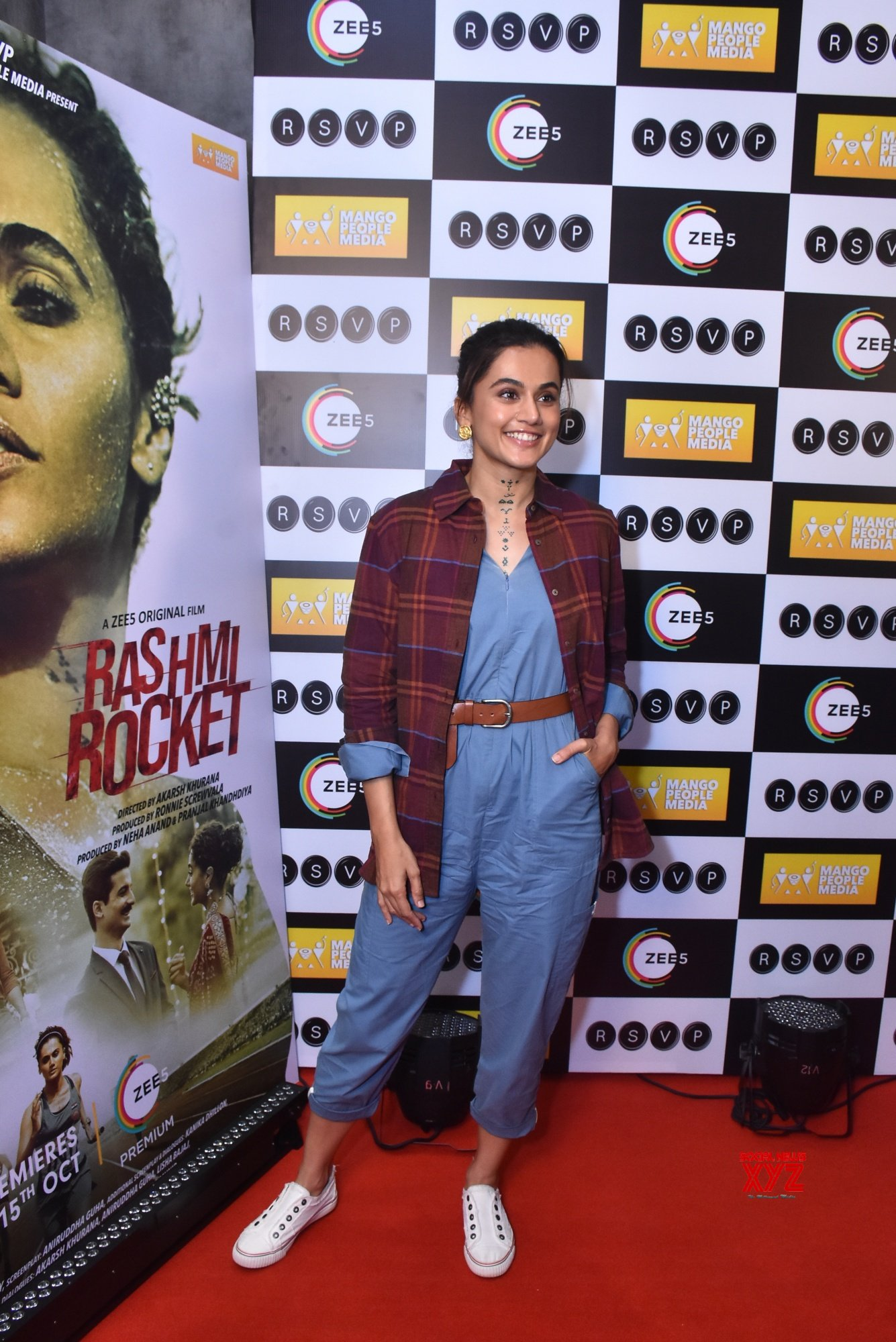 Rashmi Rocket Movie Red Carpet Event - Gallery