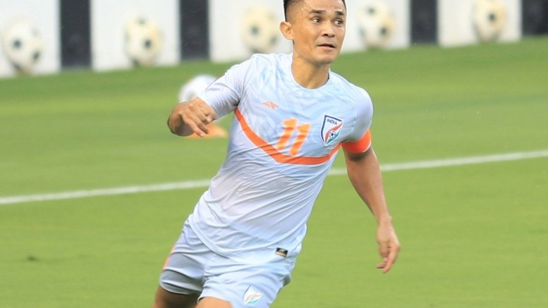 Chhetri breaks Pele's record, says it is not important, there is no comparison