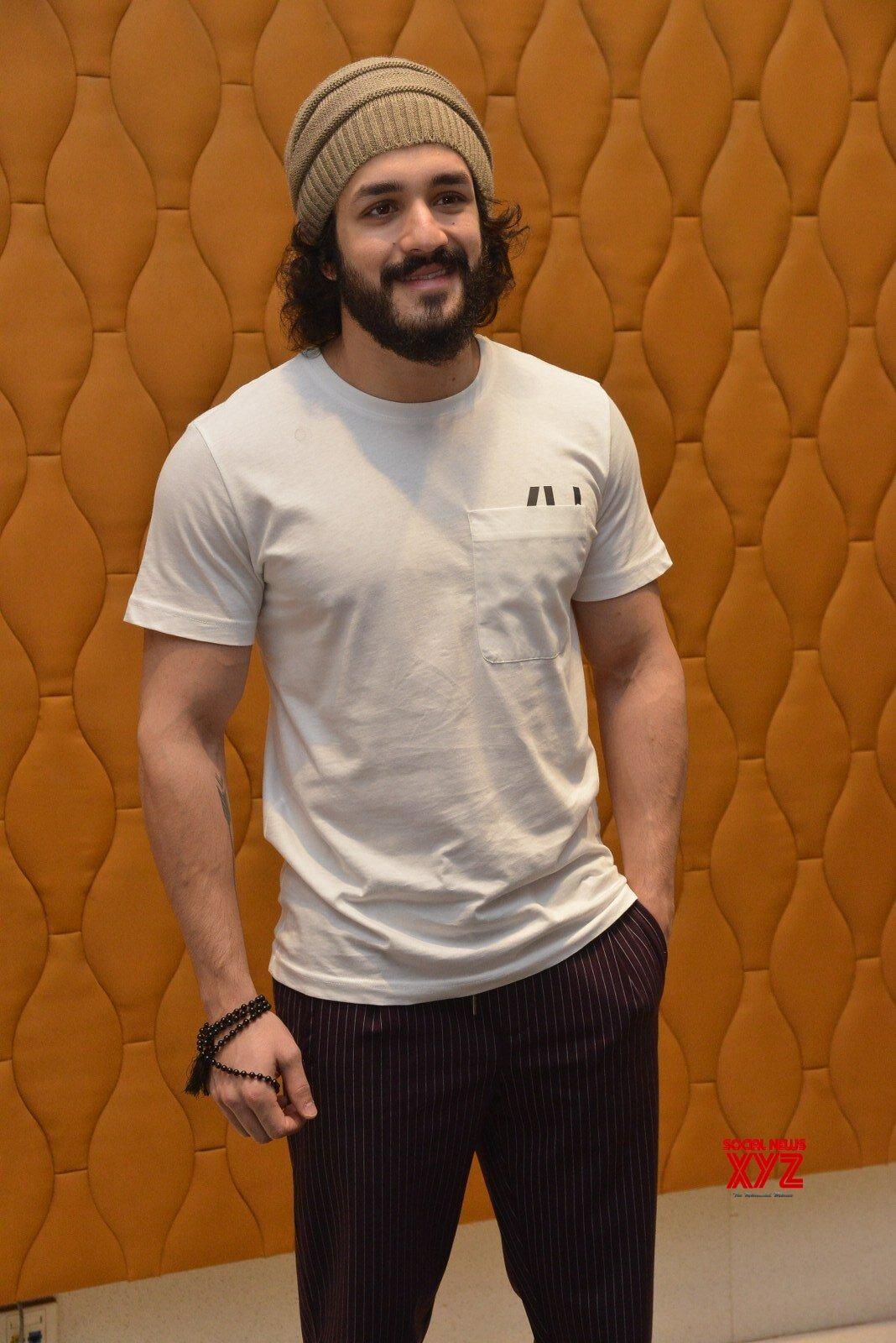 Akhil Akkineni Stills From Most Eligible Bachelor Movie Interview