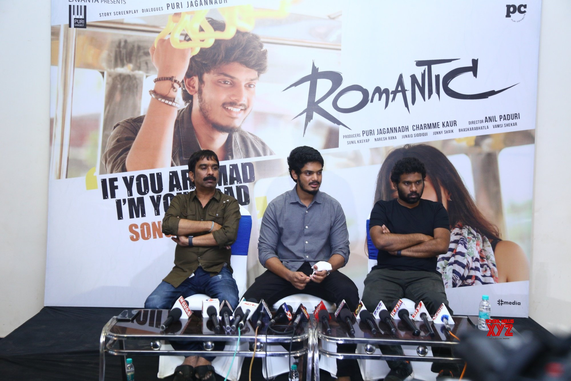 If You Are Mad I Am Your Dad Song From Puri Akash Romantic Movie Launch - Gallery Set 3