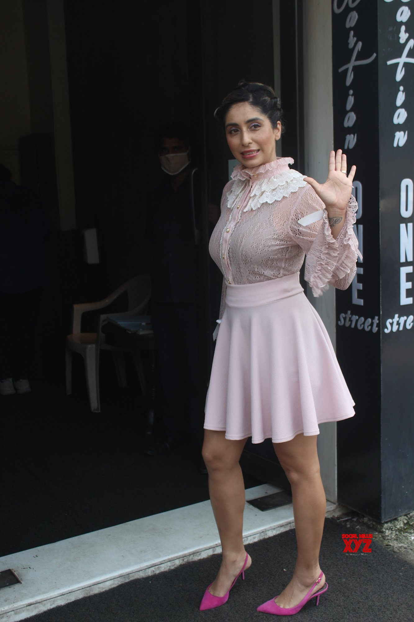 Singer Neha Bhasin Snapped At Bastian Bandra - Gallery