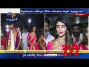 Pelli Sandadi Movie Team Visits Tirumala Temple  (Video)