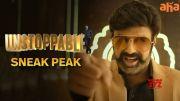 Unstoppable Sneak Peak | The Man Of Masses Nandamuri Balakrishna  | An aha Original [HD] (Video)
