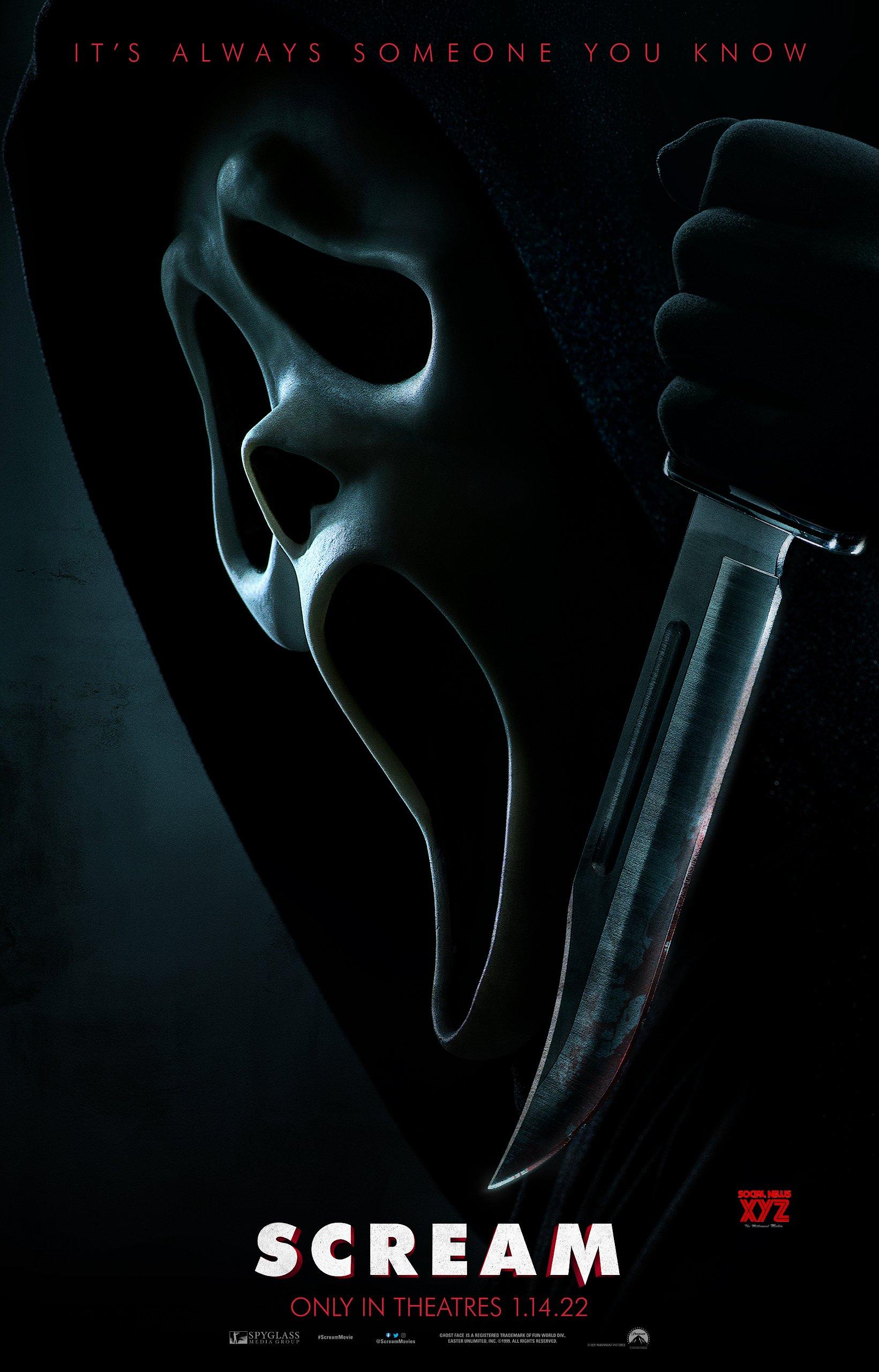 Scream Movie HD Poster