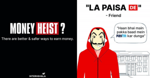 Brands creatives takeover the Money Heist moment